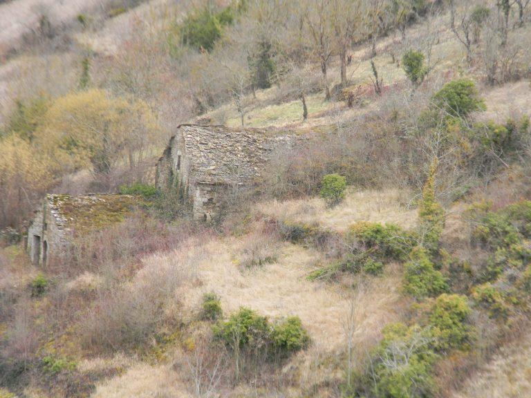 Vue extérieur bâtiment en pierre
